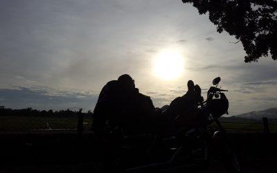 Riding one's way through life